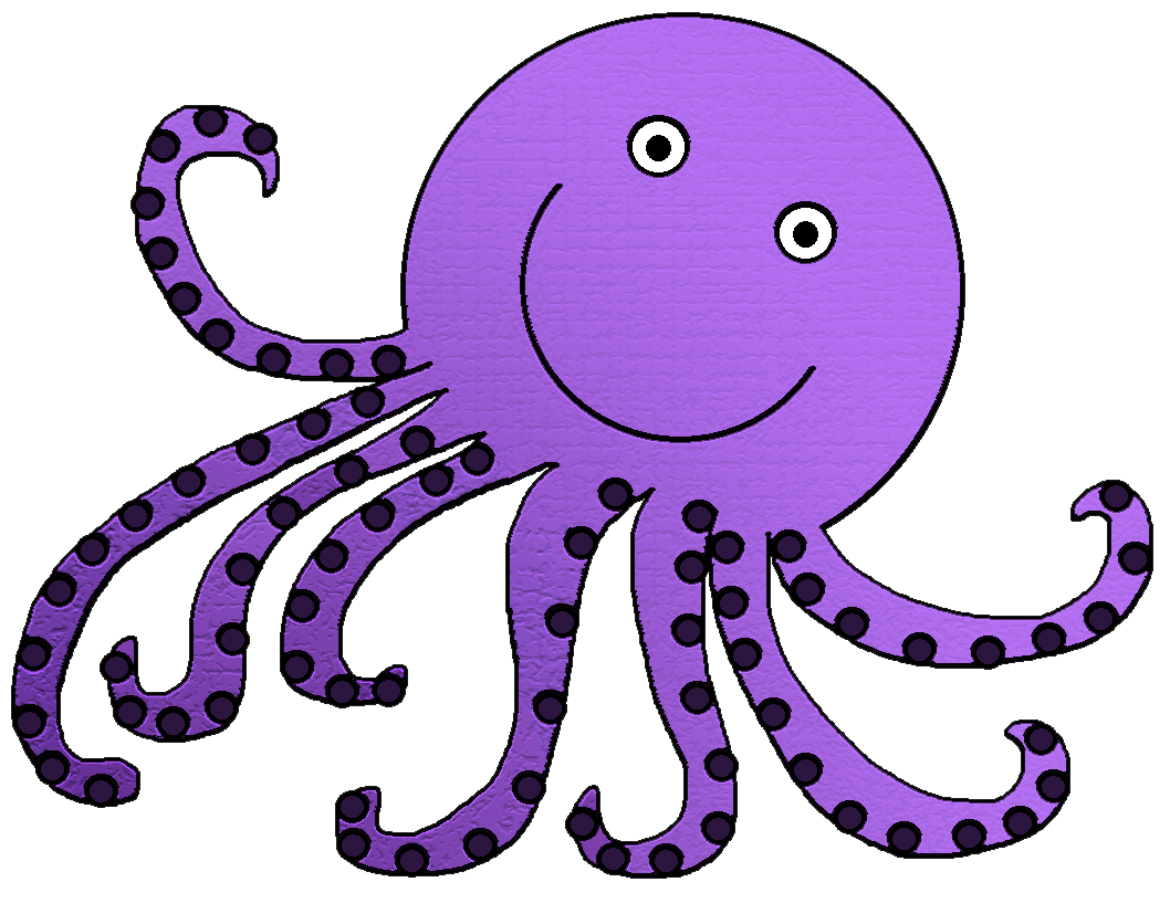 Octopus clipart free images 3 - PNG Octopus Free