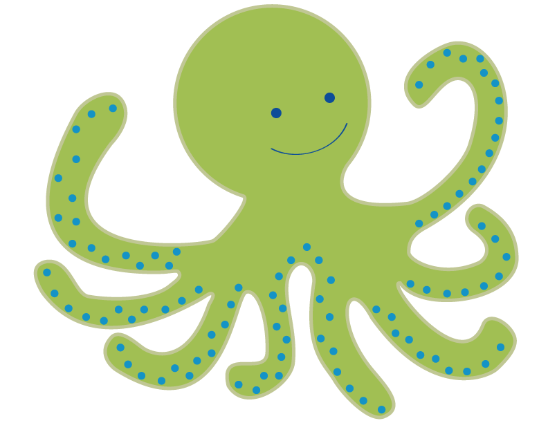 Octopus clipart free images 4 - PNG Octopus Free