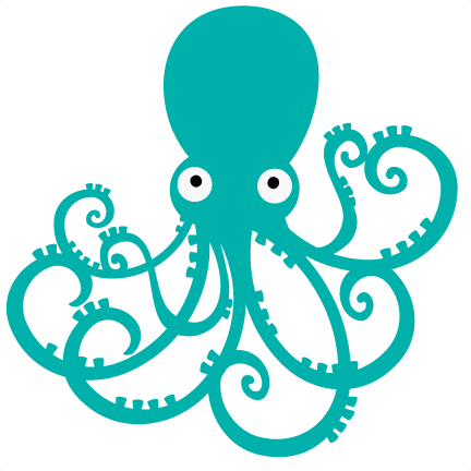 Octopus SVG file for scrapbooking octopus svg cut octopus cutting files for  scrapbooks free svgs - PNG Octopus Free