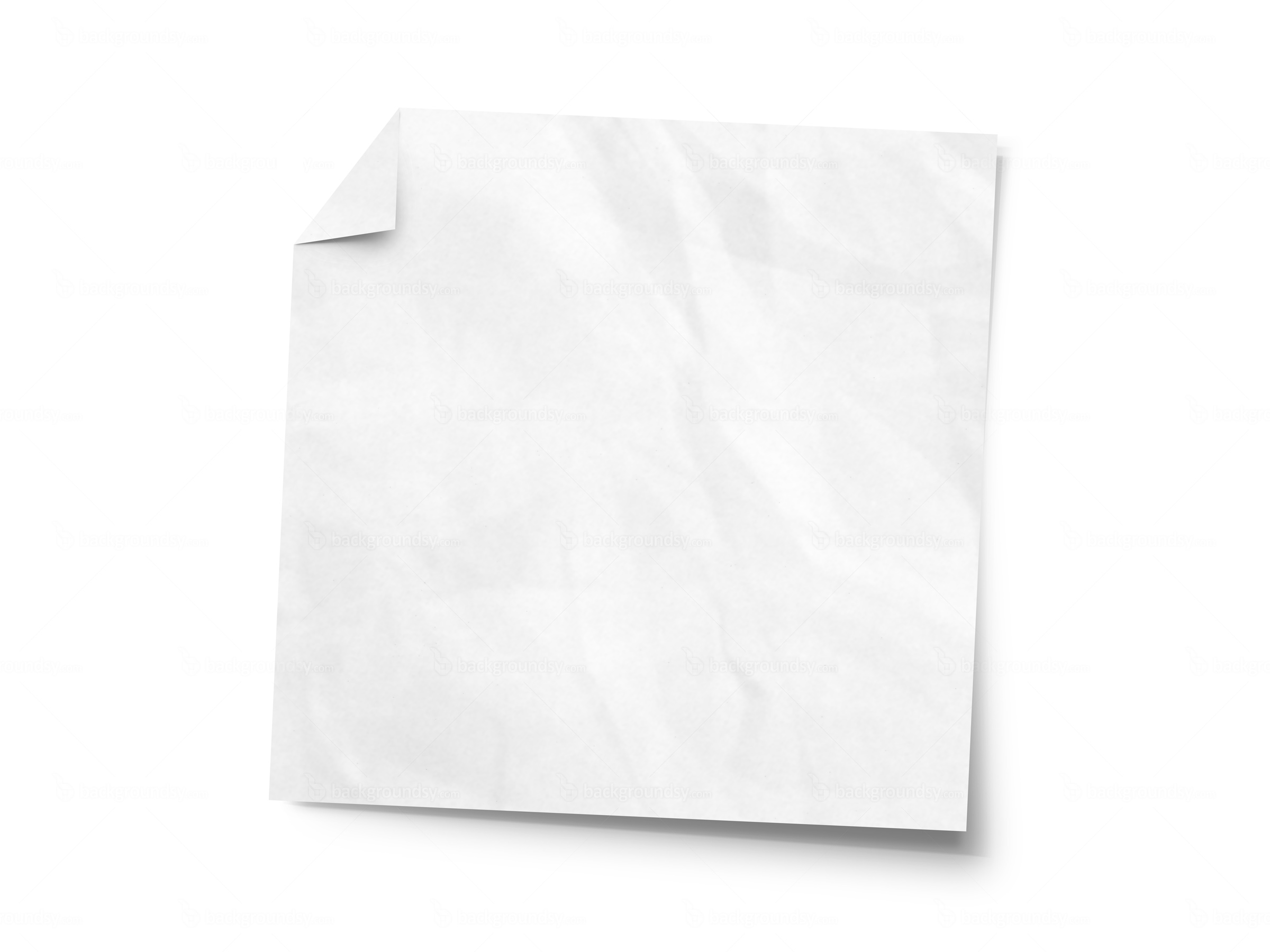 . PlusPng.com crumpled sticky note - PNG Of A Note