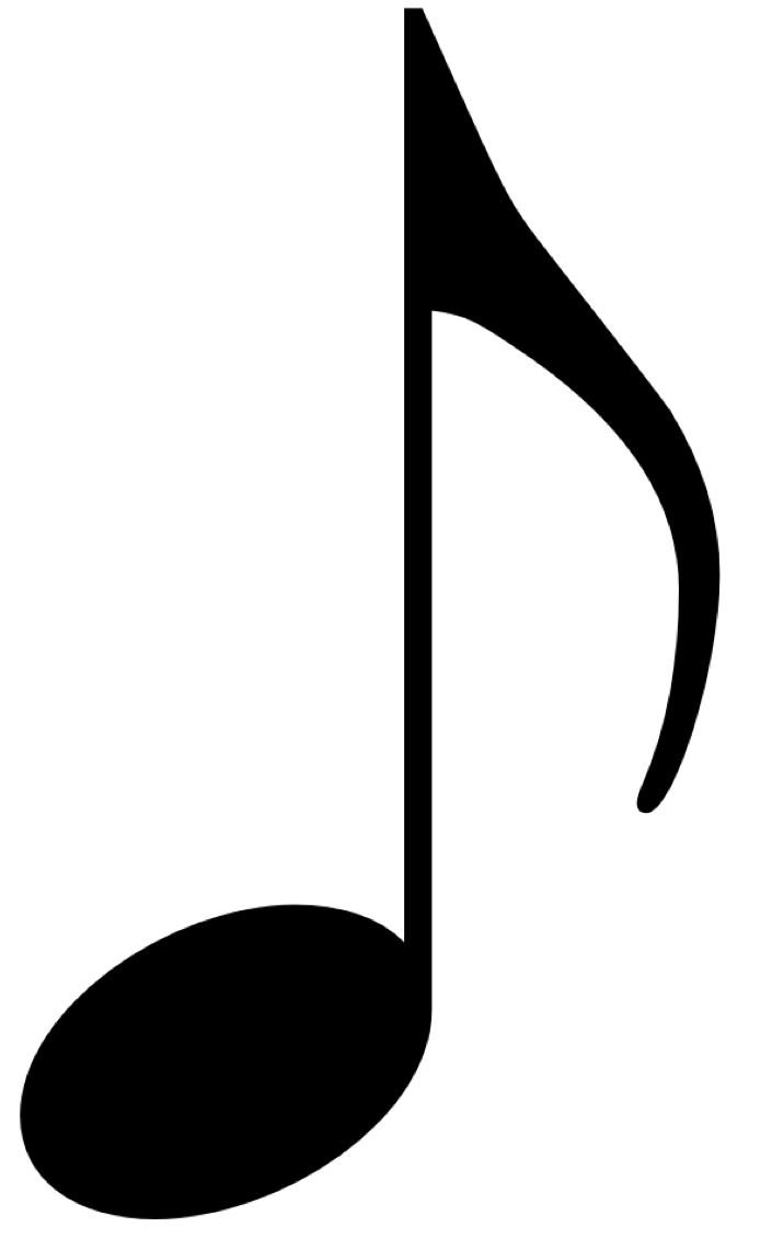 Music notes PNG - PNG Of A Note
