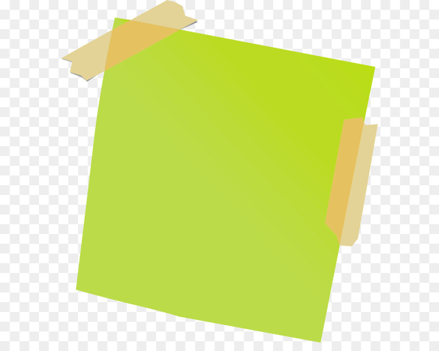 Post-it note Paper Adhesive tape - Sticky note PNG - PNG Of A Note