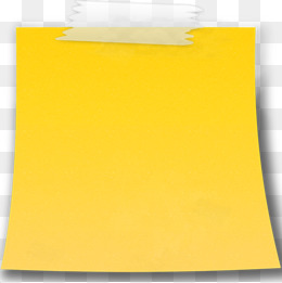 yellow sticky notes, Yellow, Sticky, Bending PNG Image and Clipart - PNG Of A Note