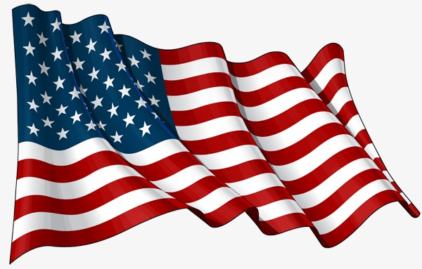 waving american flag, United States, Flag, Banner PNG Image and Clipart - PNG Of The American Flag