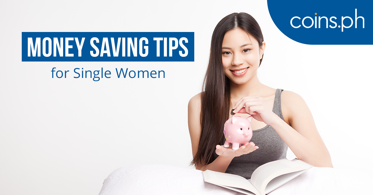9 Ways to Save Money as a Single Woman - PNG Of Woman Saving Money
