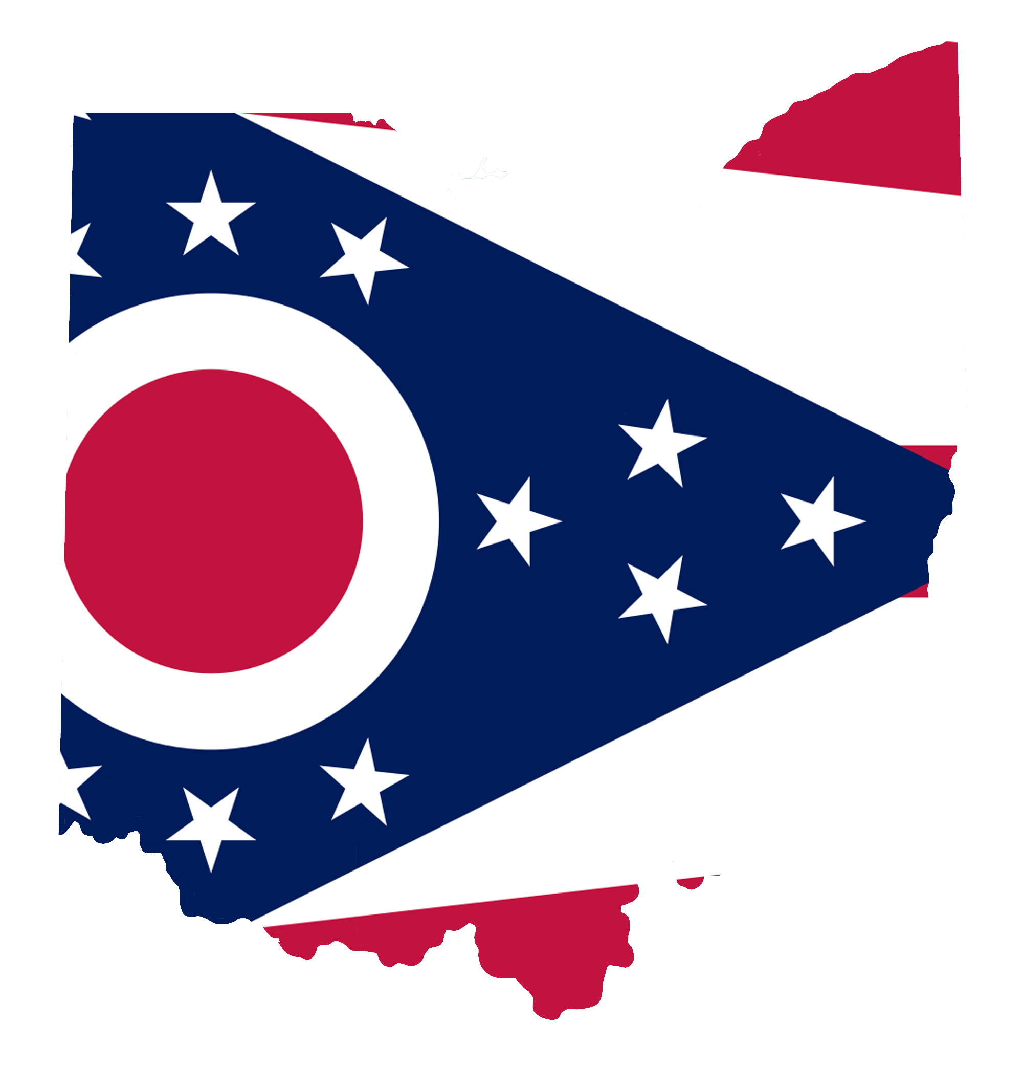 File:Ohio Flag Map Accurate.png - PNG Ohio