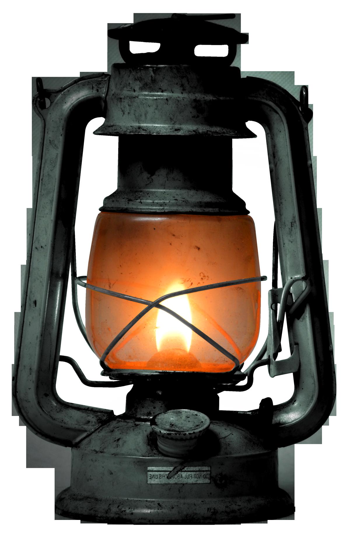 PNG Oil Lamp - 77497