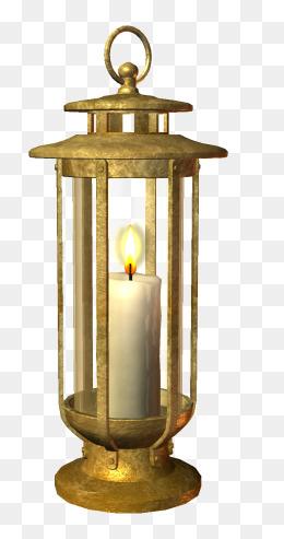 PNG Oil Lamp - 77495