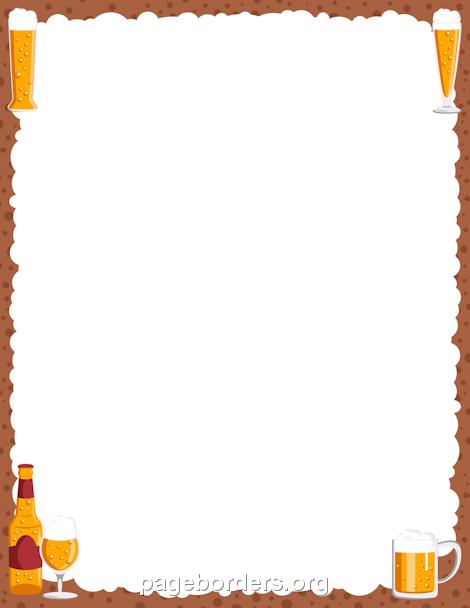 Border templates - PNG Oktoberfest Border