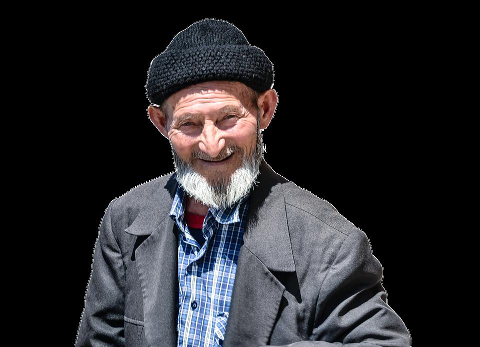 PNG Old Man - 77291