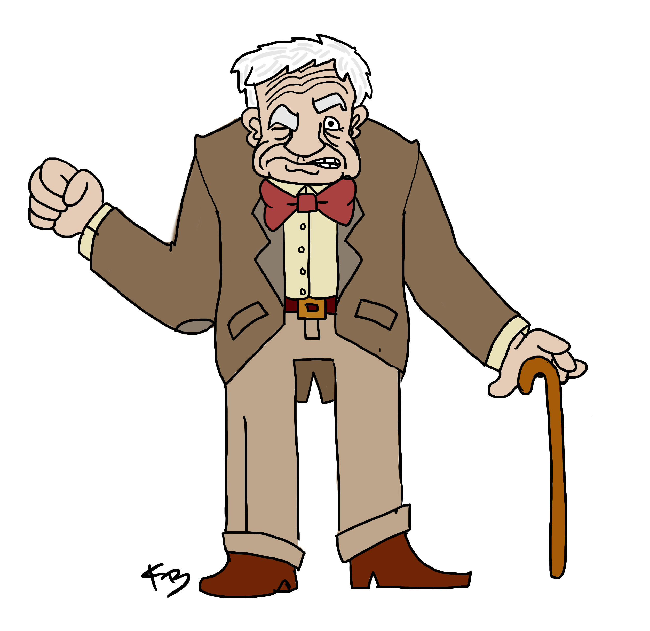 Grumpy old man clipart pluspng - PNG Old Man