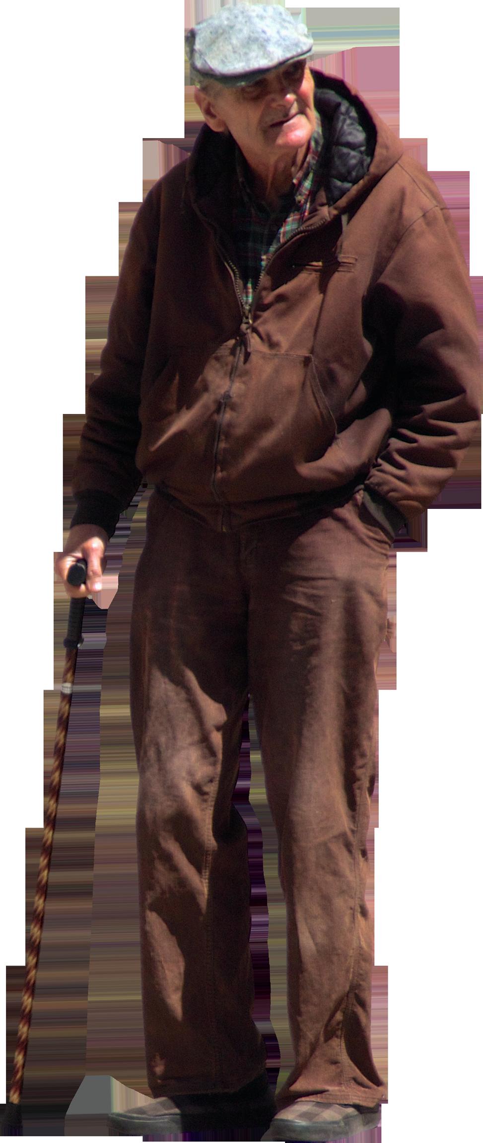 PNG Old Man - 77297