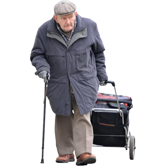 PNG Old Man - 77287