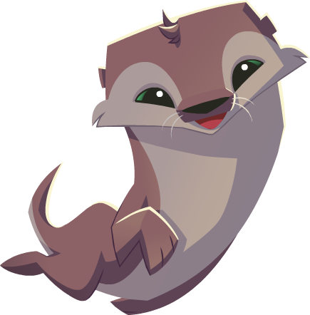 File:Swimming Otter.png - PNG Otter