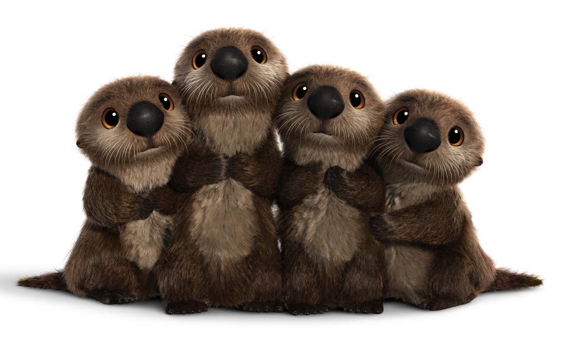 Image - Otters Render.png | Finding Dory Wiki | FANDOM powered by Wikia - PNG Otter