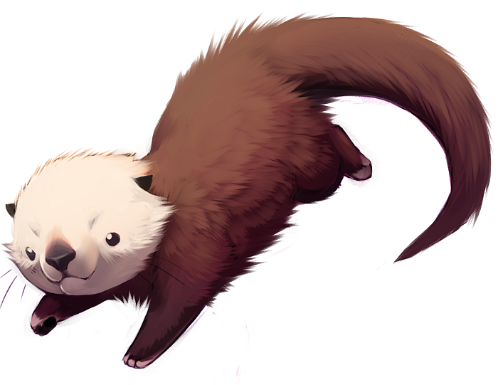 PNG Otter - 72756