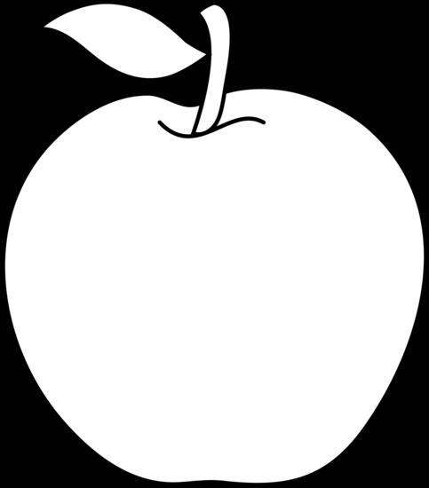 PNG Outline Apple-PlusPNG.com-483 - PNG Outline Apple