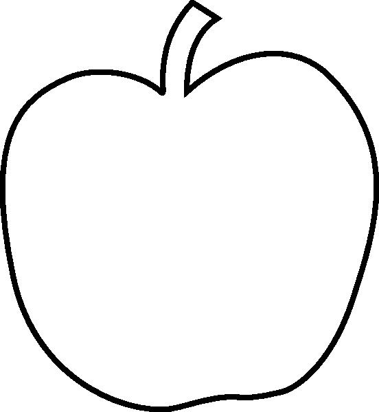 PNG Outline Apple - 72893