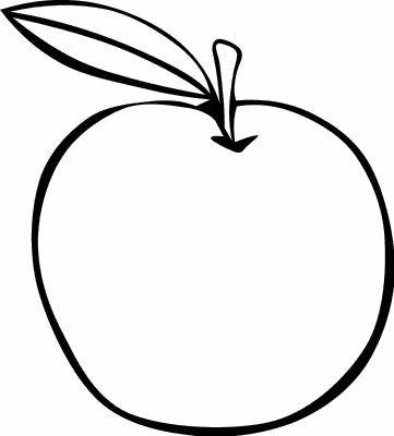 PNG Outline Apple - 72879