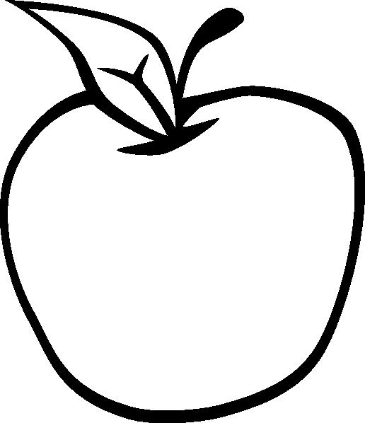 PNG Outline Apple - 72885