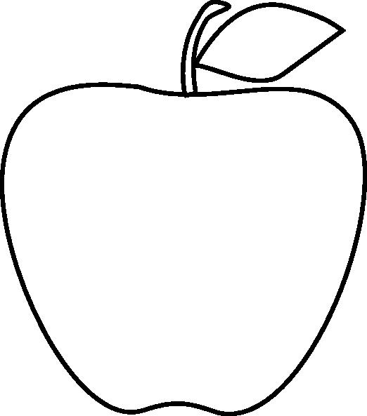 PNG Outline Apple - 72889