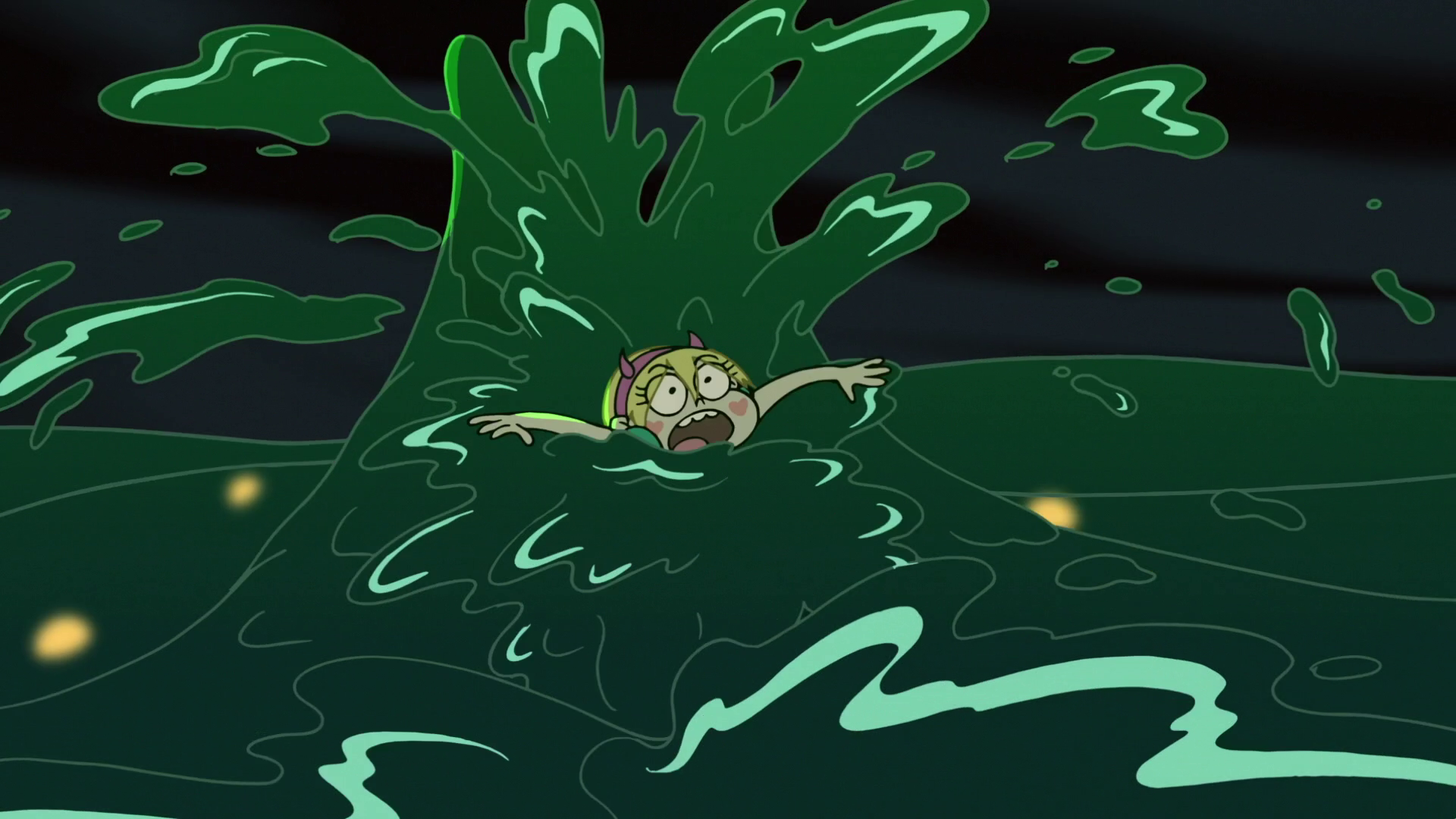 S3E7 Star Butterfly overwhelmed by the ooze.png - PNG Overwhelmed