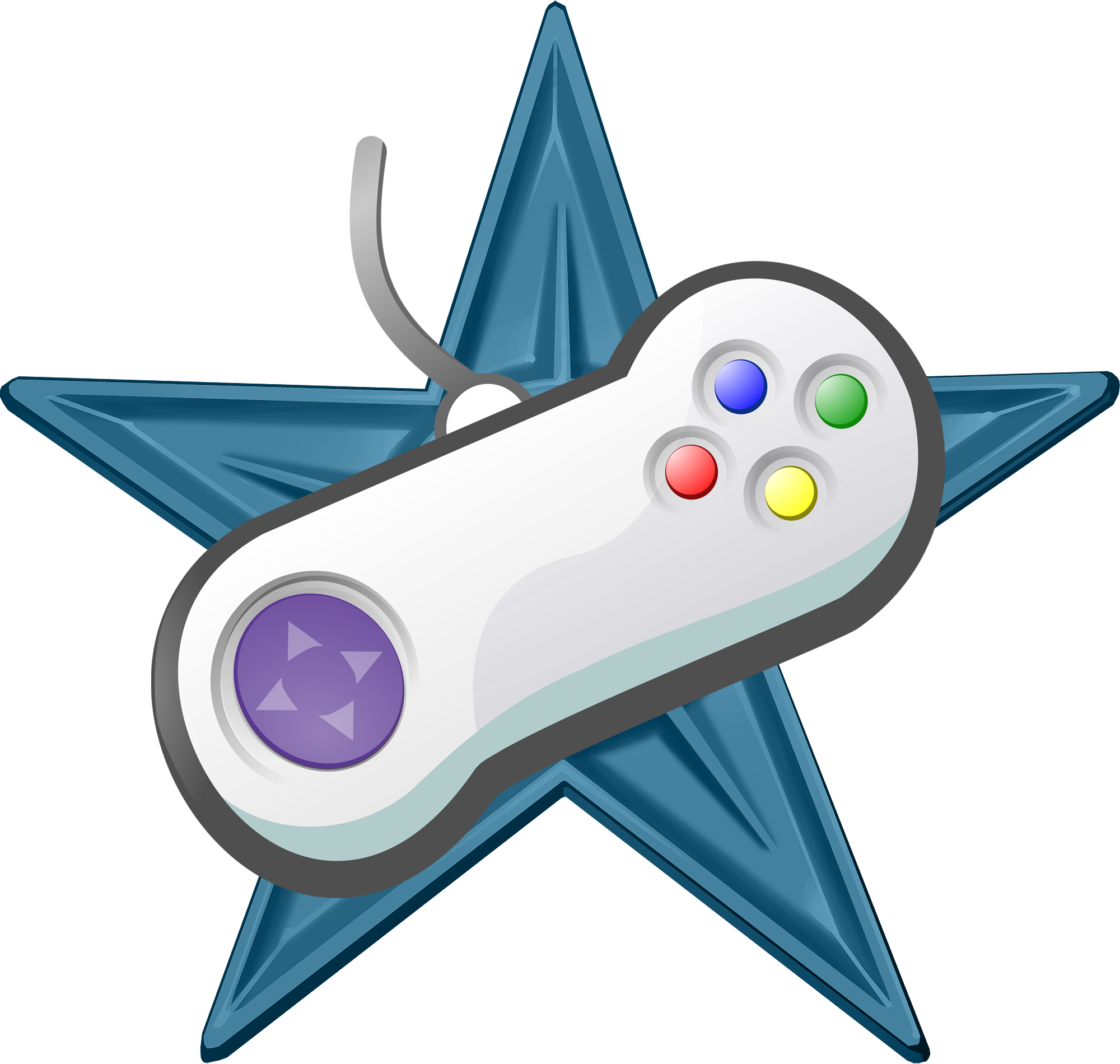 Video Game Barnstar.png - PNG Oyun