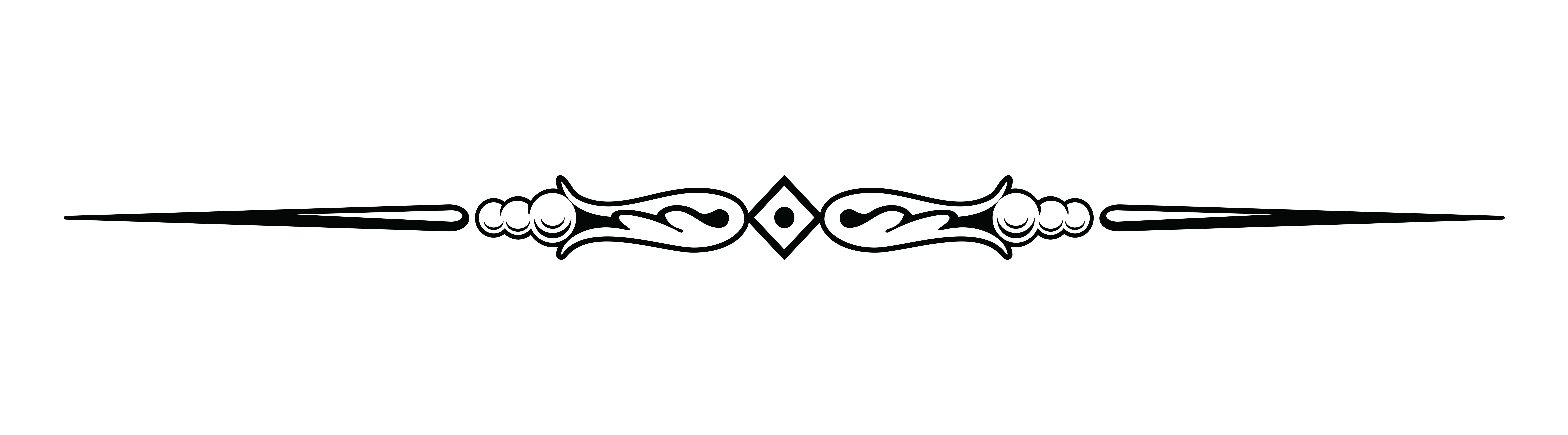 Fancy Vector Lines Fancy Divider Line - PNG Page Divider