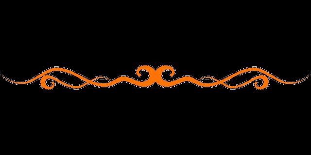Orange-Page-Divider.png - PNG Page Divider