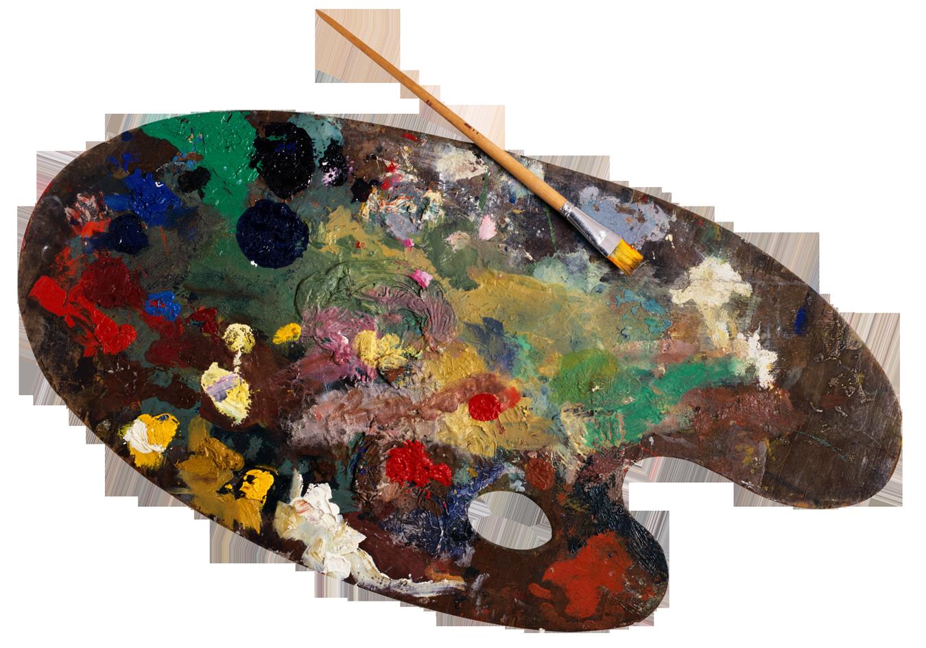 PNG Paint Palette - 73378