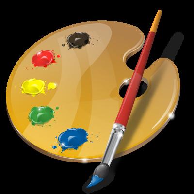 PNG Paint Palette - 73385