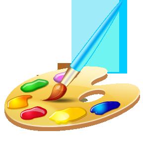PNG Paint Palette - 73384
