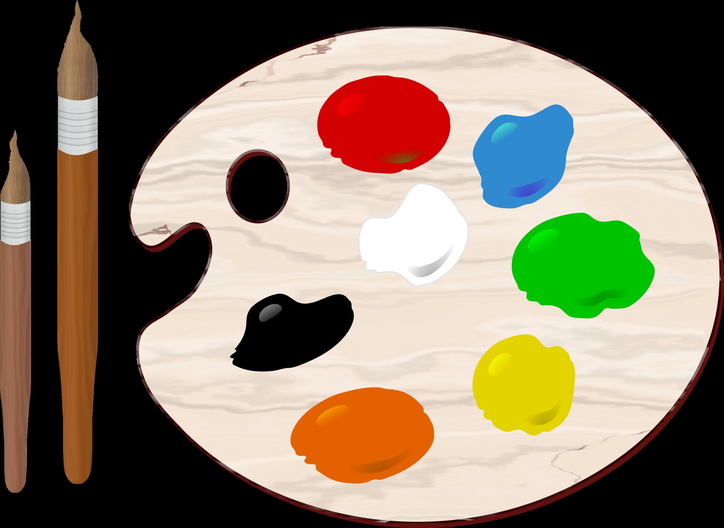 PNG Paint Palette - 73383