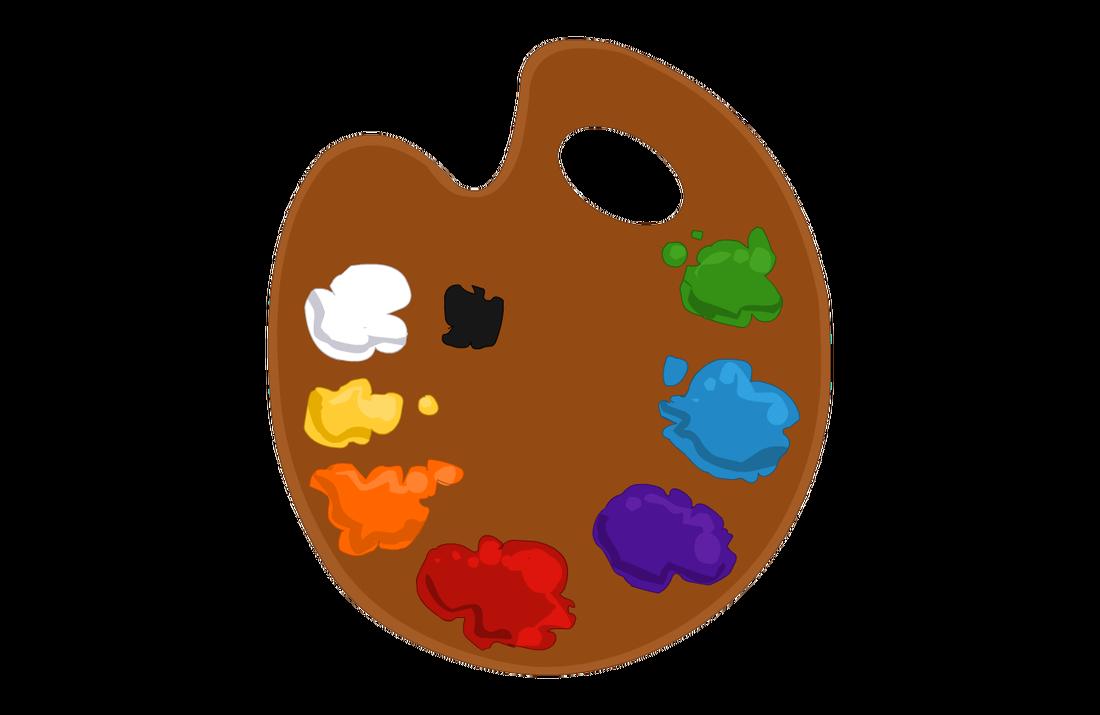 PNG Paint Palette - 73392