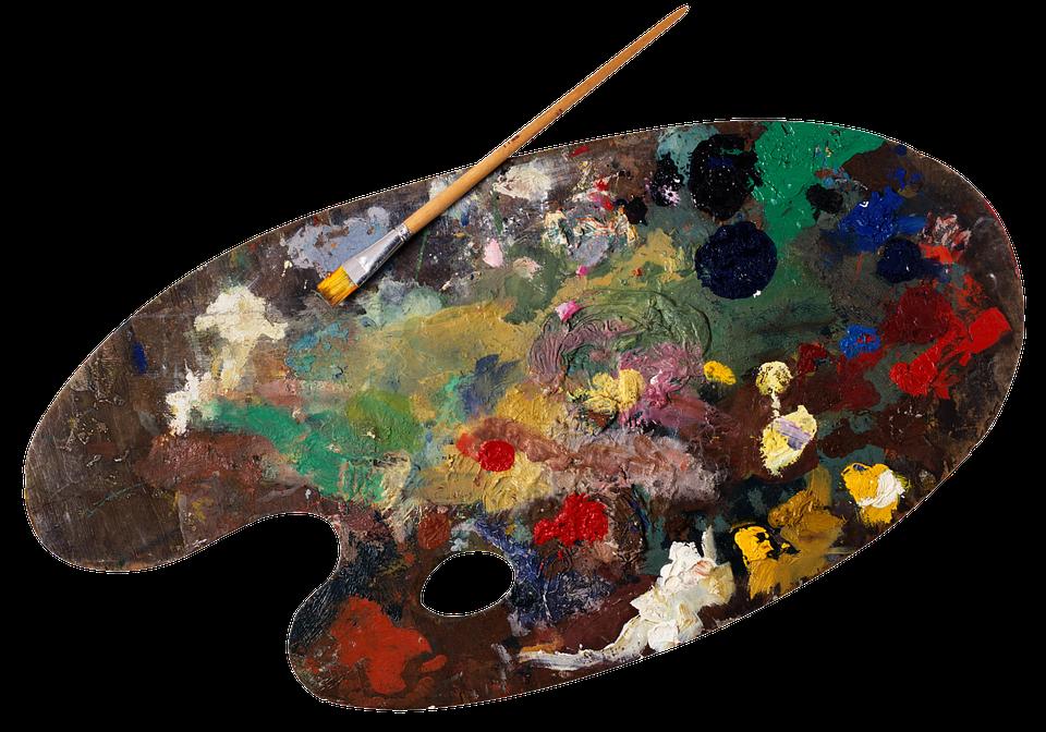 PNG Paint Palette - 73380