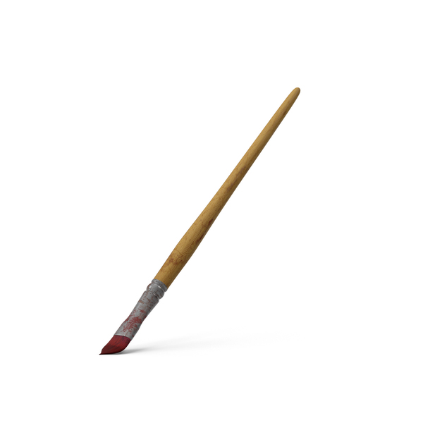 Dirty Paint Brush - PNG Paintbrush