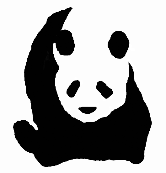 File:Giant panda drawing.png - PNG Panda