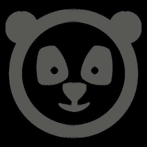 Panda face icon png - PNG Panda