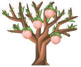 PNG Peach Tree - 164228