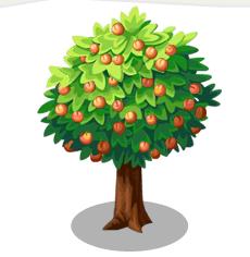 PNG Peach Tree - 164217
