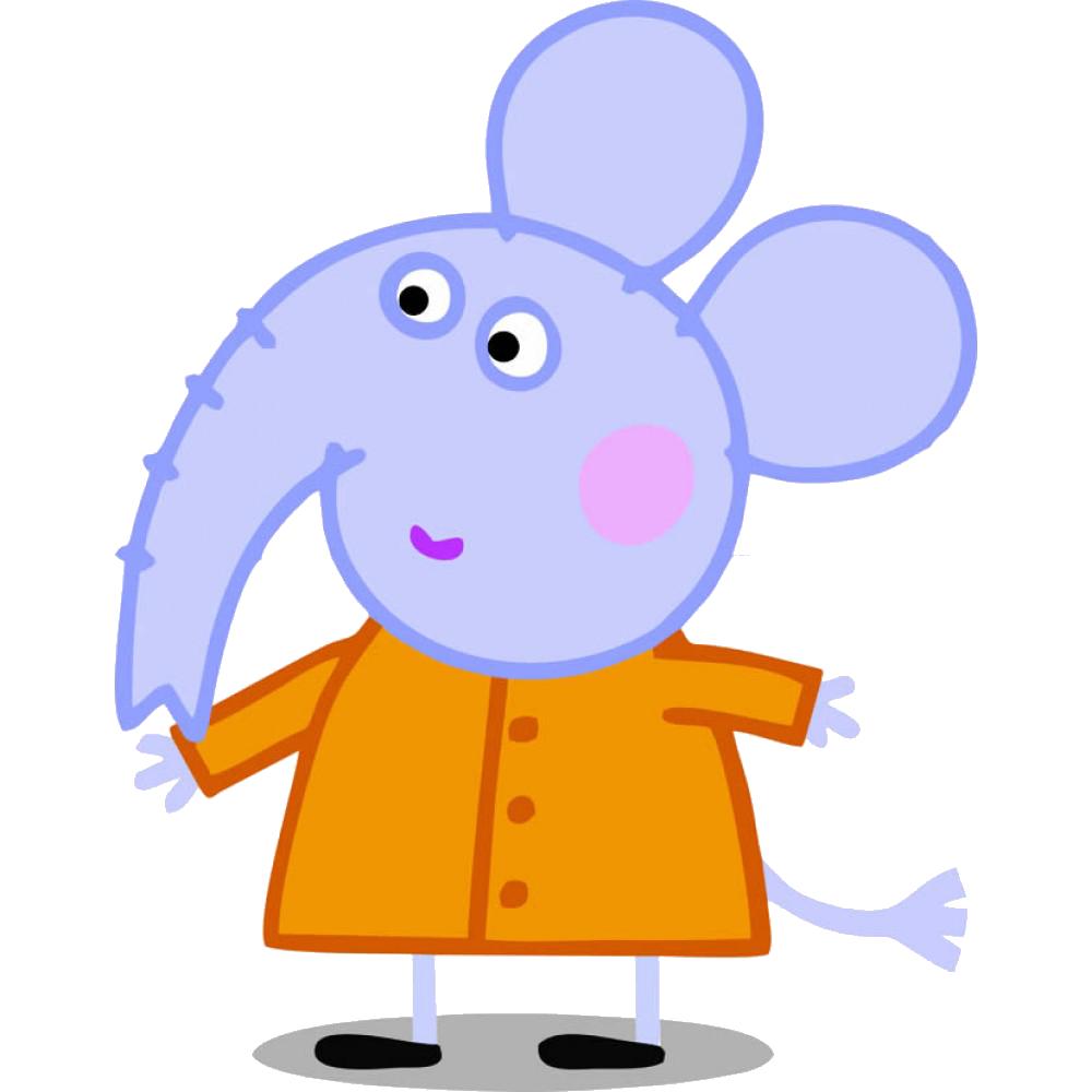 Emily elefante amiga de peppa Pig - PNG Peppa Pig
