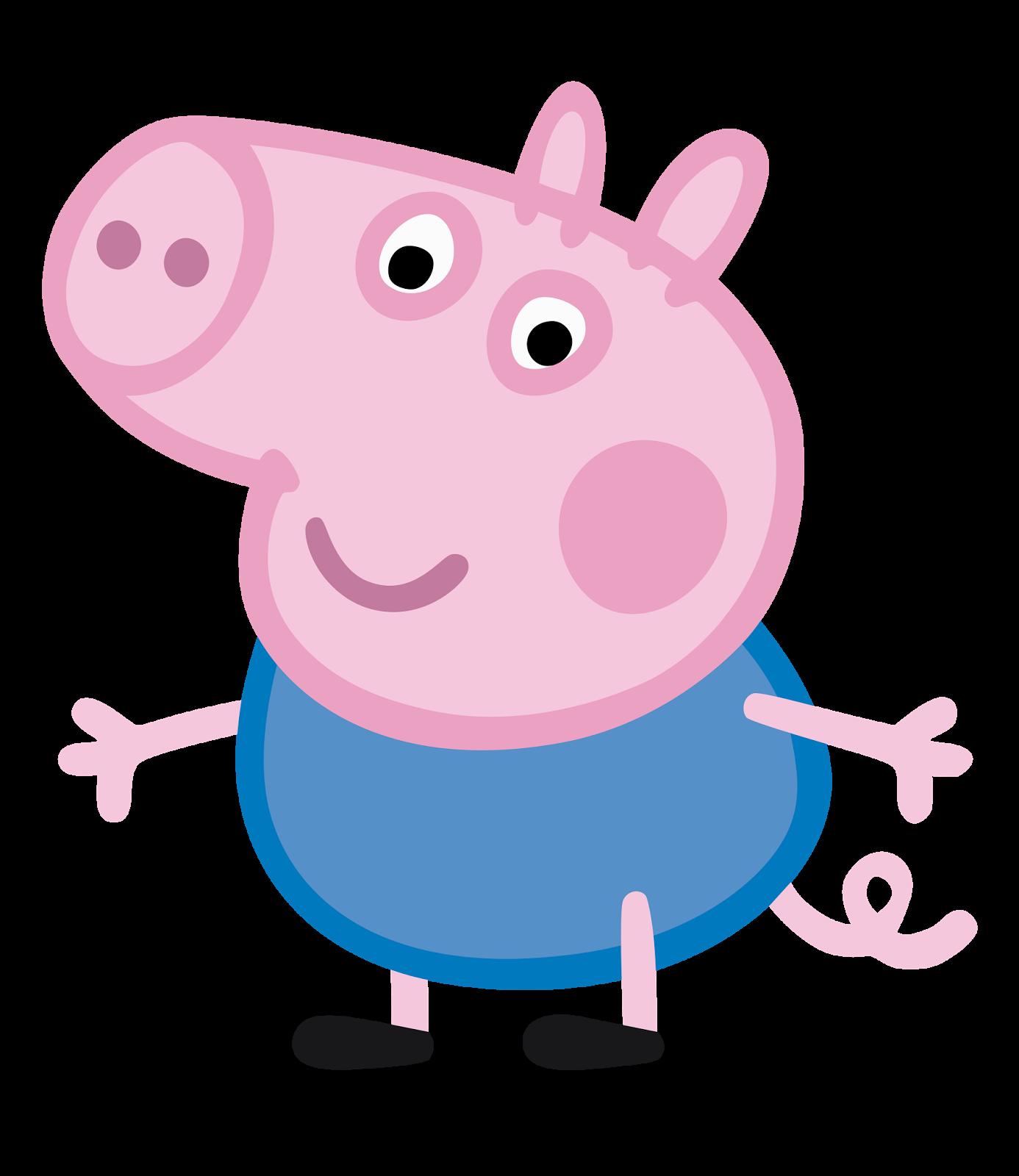 George Pig.png - PNG Peppa Pig