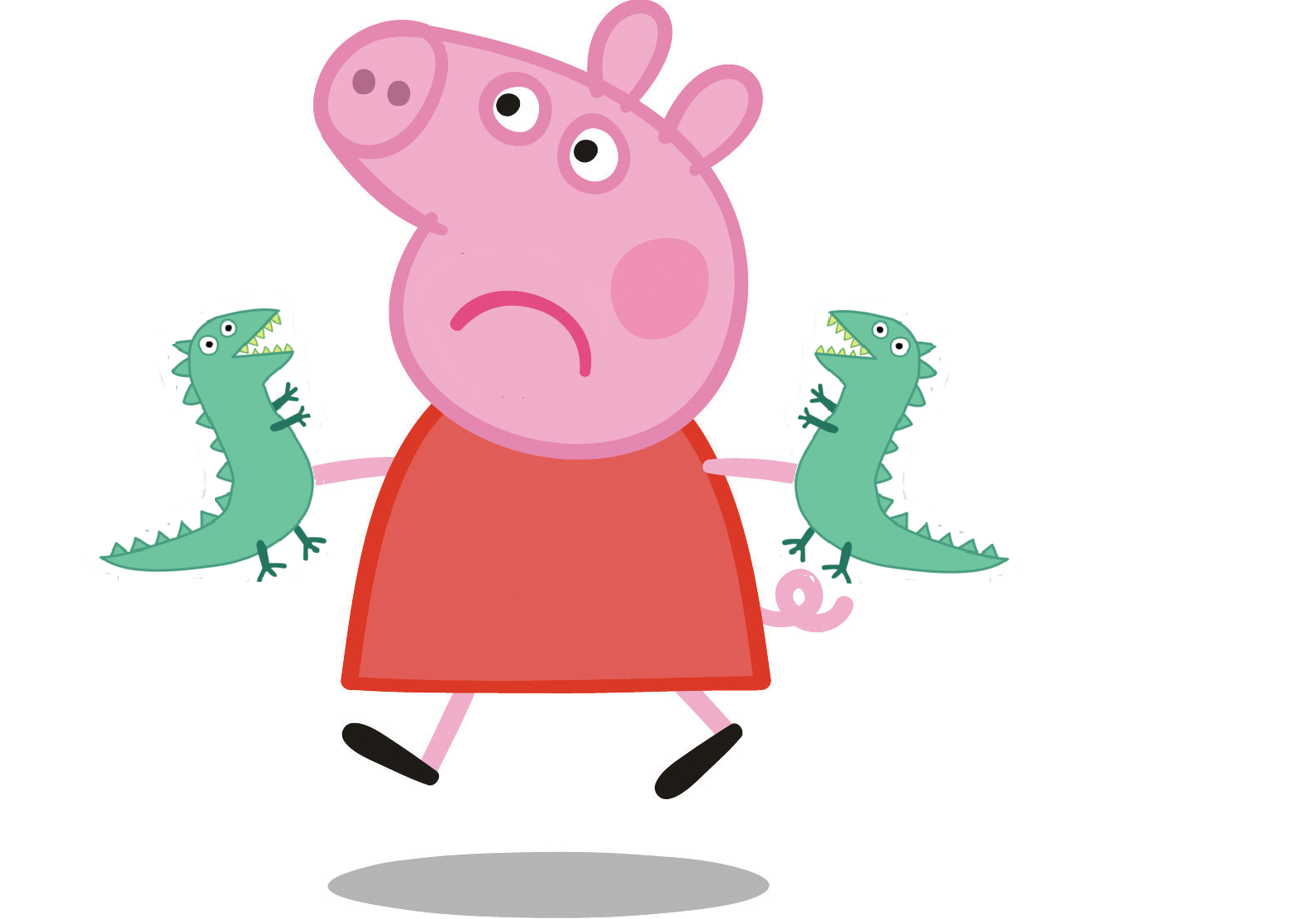 Image - Mr dinosaur hands.png | Peppa Pig Fanon Wiki | FANDOM powered by  Wikia - PNG Peppa Pig