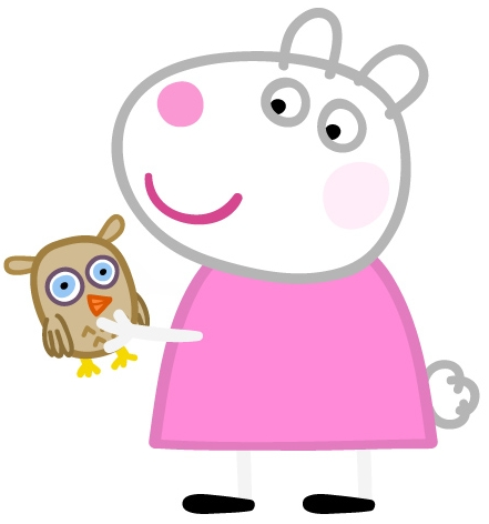 Suzy.png - PNG Peppa Pig
