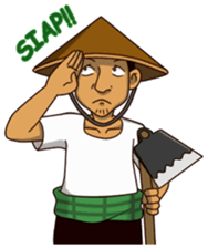 Petani Gaul sticker #8454405 - PNG Petani