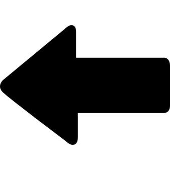 Pfeil links fett, iOS-7-Schnittstelle Symbol - PNG Pfeil Rechts