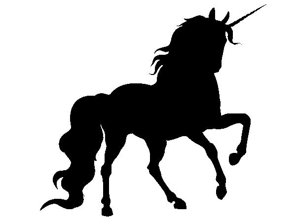 PNG Pferd Schwarz Weiss - 72186