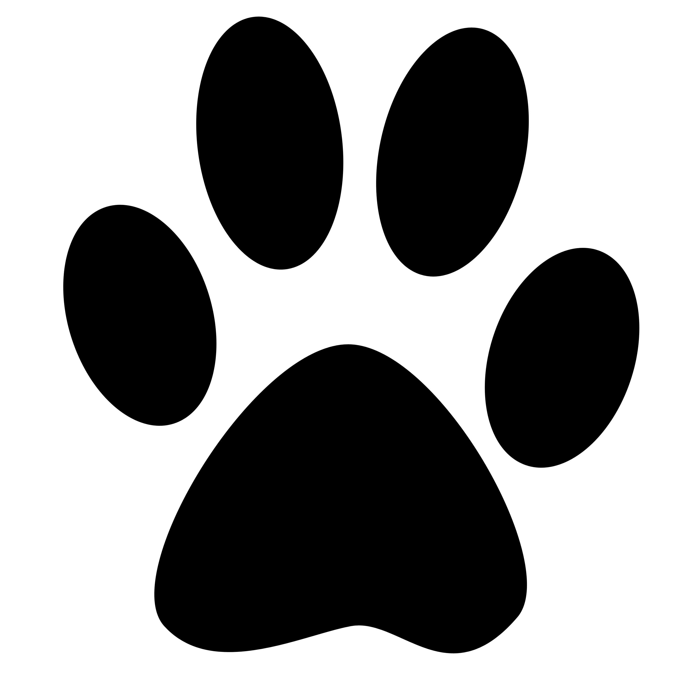 Herzlichst das Service-Personal - PNG Pfotenabdruck