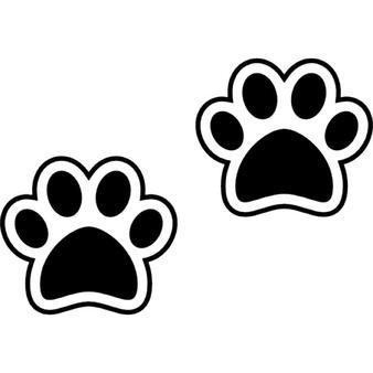 Hund Pfotenabdrücke - PNG Pfotenabdruck
