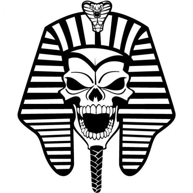 Tattoou0027s For u003e Pharaoh Head Tattoo Design - PNG Pharaoh
